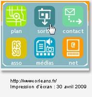 Sans le texte associé au bouton, la signification des icônes est très difficile à comprendre.