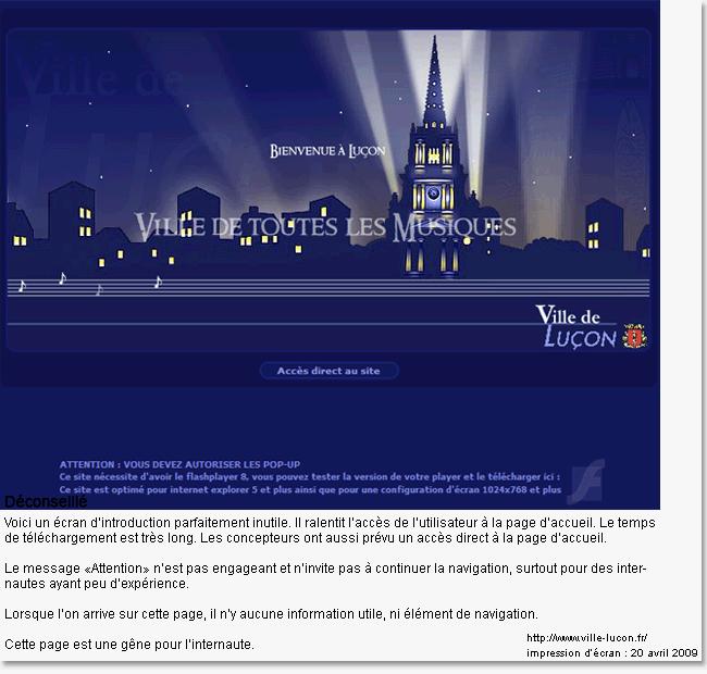 Ergonomie web   Page d accueil web   un cas particulier - STUDIO ... 4882df1e5d61